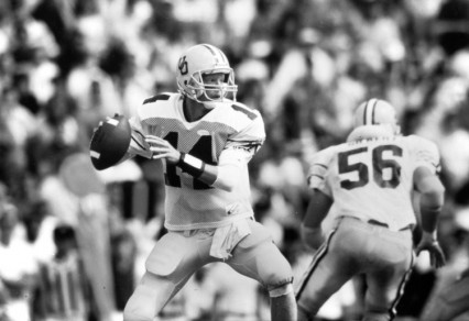Bill Musgrave had shattered every passing record at Oregon during his career (86-90), replacing hiim proved difficult