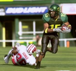 Howry Gained 338 Yards vs. Stanford in 2001
