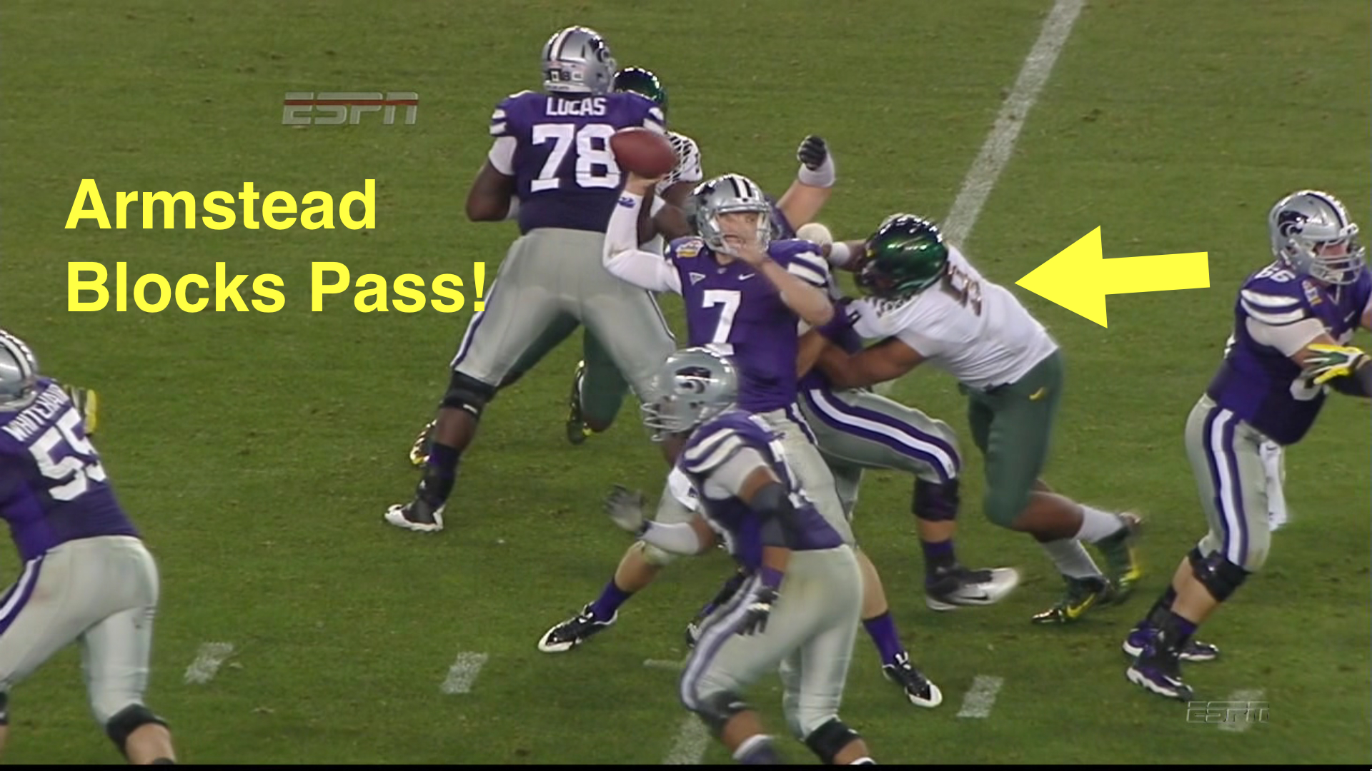 Armstead blocks pass