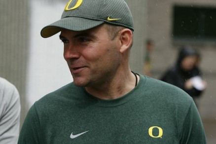 Mark Helfrich will take over as head coach in the wake of his departure for Philadelphia