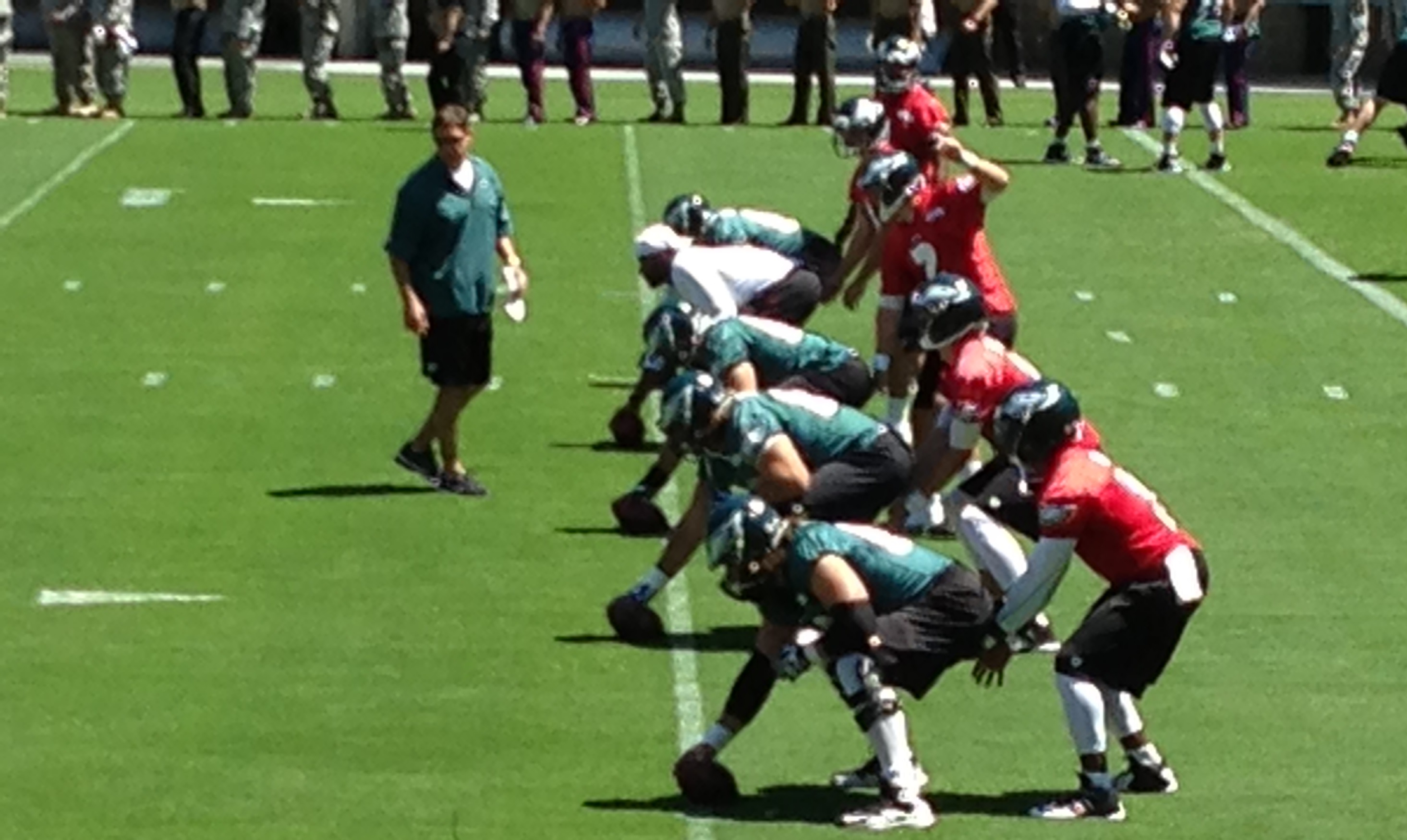 Eagles TC QB lineup