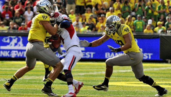 Oregon defeats Fresno State 42-25