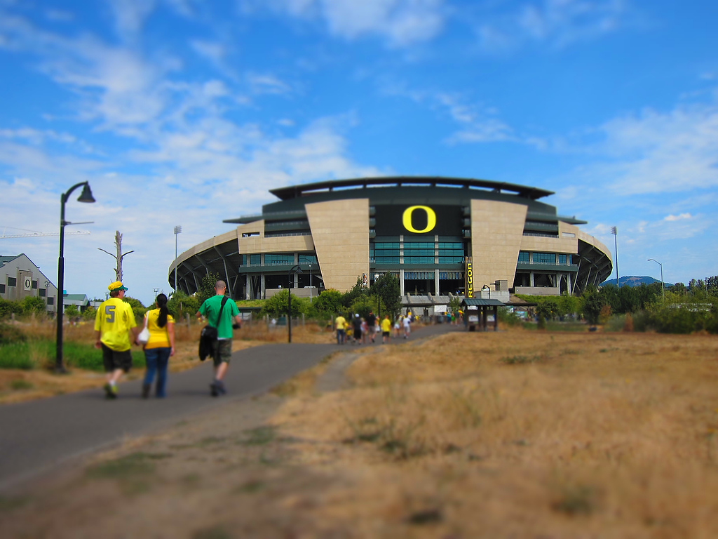 A forest is coming to Autzen!