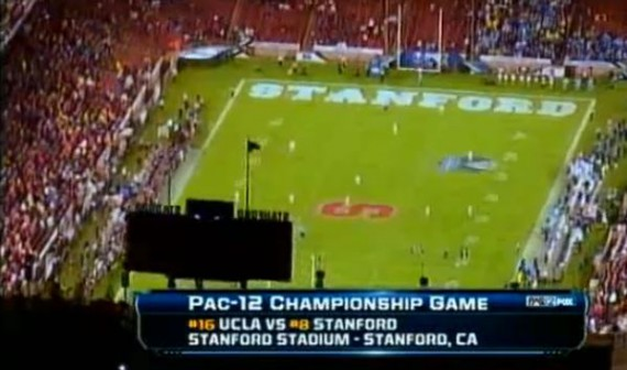 Packed house at the 2012 Pac-12 Championship