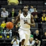 Transfer Jason Calliste helps open up the Oregon offense with his shooting ability