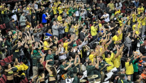 Oregon Fans Awaken?