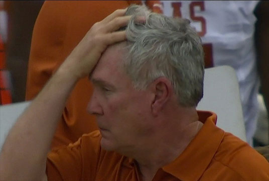 Mack Brown has had many trying moments in recent seasons.
