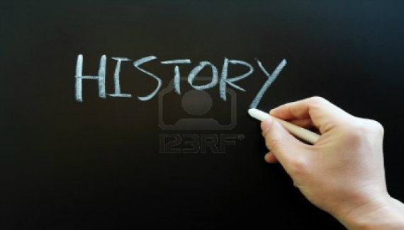 11939402-writing-the-word-history-with-chalk-on-a-blackboard