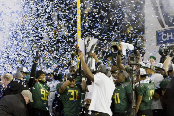 The Pac-12 Championship would give Oregon a possible eighth home game.