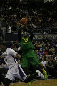 Jason Calliste has been a big impact off the bench for Oregon as off late.