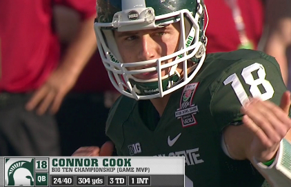 QB Connor Cook