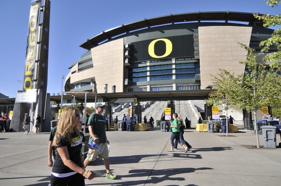 South Entrance of Autzen Stadium
