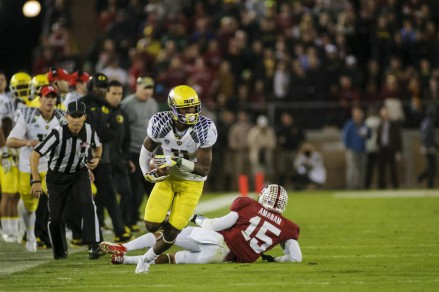 Bralon Addison against Stanford.