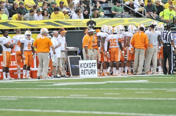 The Ducks gave Tennessee lots of opportunities to work on kickoff returns.