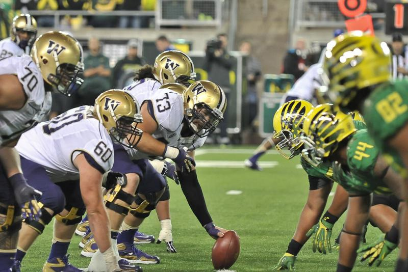 Oregon-Washington facing off