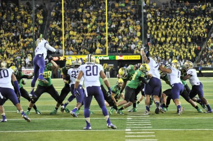 The game at Autzen Stadium, 2012
