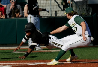 Thorpe stops Vandy at home plate!