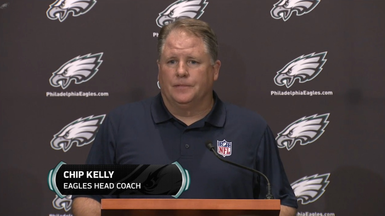 Chip Kelly Head Coach