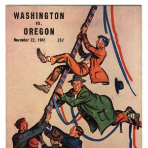 Football program for the 1941 game.