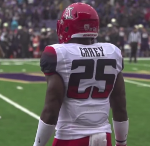 Arizona Running Back Ka'Deem Carey