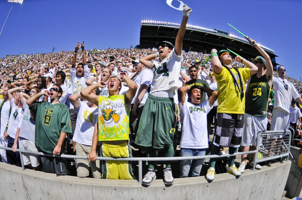 The Autzen crowd will need to be as loud as ever against Michigan State.