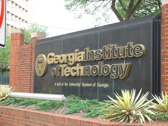 Sign for Georgia Institute of Technology