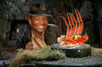 """I thought the crab legs at Publix was part of my scholarship."""