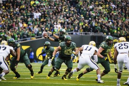 The Ducks depth at offensive line promises another strong year in 2015.