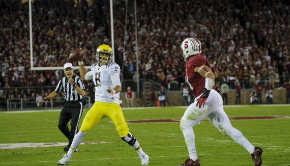 Mariota against Stanford