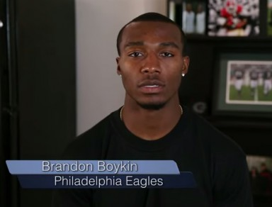 Brandon Boykin in case you can't read