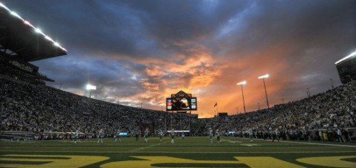It never rains in Autzen