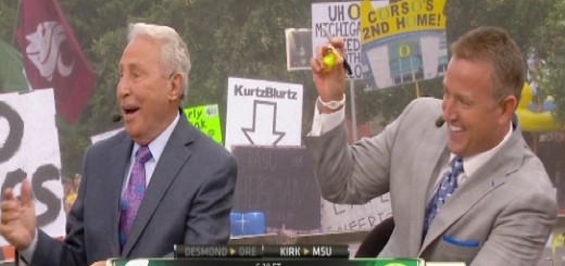 Kirk picks MSU and gets Duck rath 2