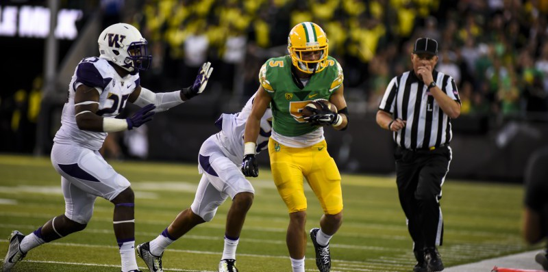 Devon Allen Makes a Play