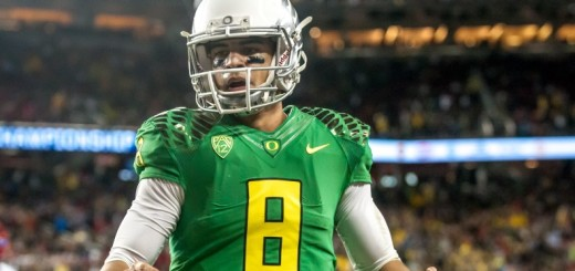 Oregon leads Arizona 23-0 at halftime in Levi Stadium.