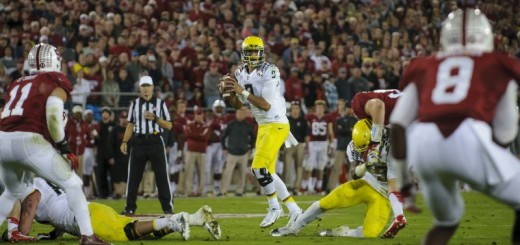 Marcus Mariota is looking to beat Stanford for the first time