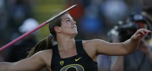 Liz Brenner, Oregon Ducks, Track and Field