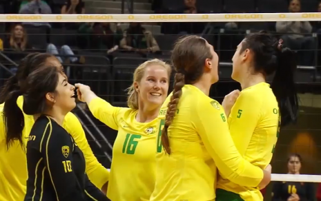 Oregon Volleyball won a three set sweep versus Cal after losing to No. 1 Stanford.