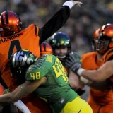 Oregon vs Oregon State in the Civil War 2013