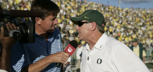 Oregon Coach Mike Bellotti