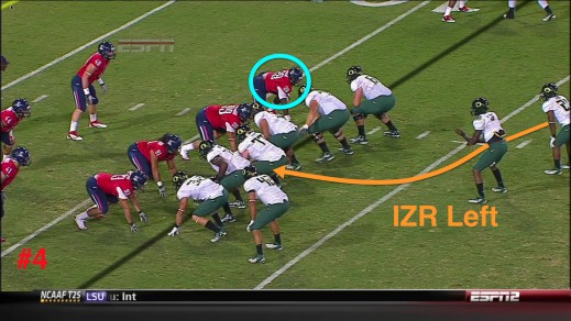 Remember the Inside Zone Read from the old formation?