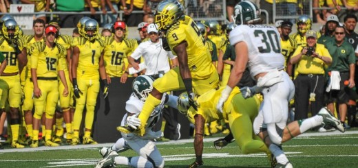 Marshall shows off his athleticism against Michigan State