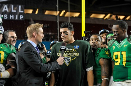 Mariota wins Pac-12 Title Game MVP