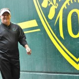 Chip Kelly in the Autzen Tunnel