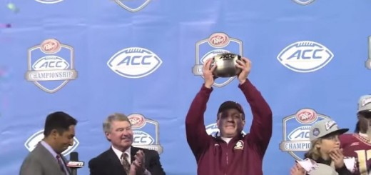 fsu trophy from video
