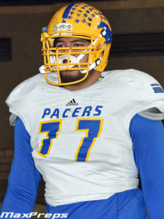 "The 6'7"" 330 lb. offensive lineman may be another beast taken in 2015"
