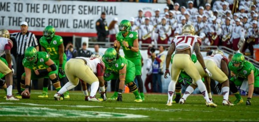 The Ducks dominated the Seminoles en route to the national championship game