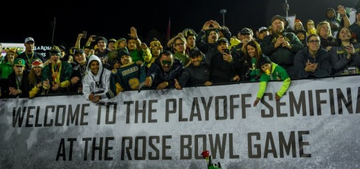 Oregon Fans Celebrate Semifinal Victory