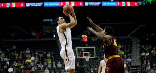 Oregon #24 Dillon Brooks Arizona State #40 Shaquielle McKissic