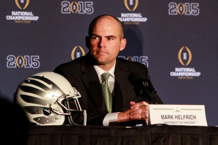 Oregon head coach Mark Helfrich : 'Our guys are excited and ready to compete'