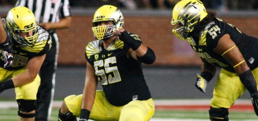 Oregon's starting center Hroniss Grasu was among a number of key players who suffered significant injuries.